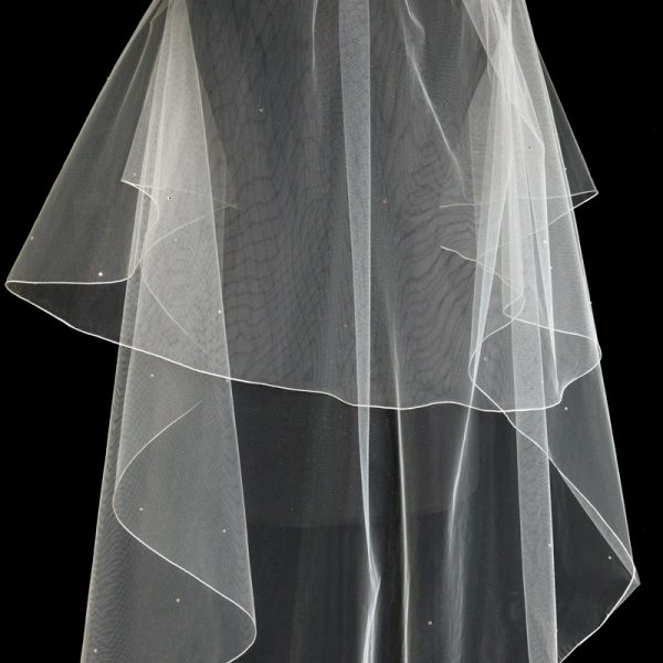 wedding dress veil