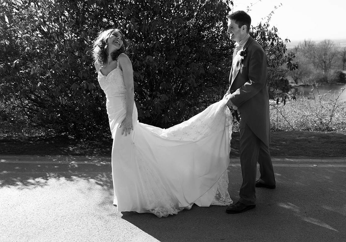 bridal gown in stockport